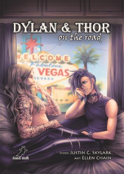 Dylan und Thor on the road